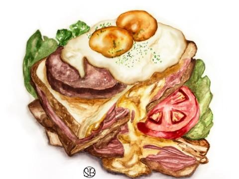 Food illustration 01